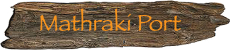 Mathraki Port on Mathraki Island