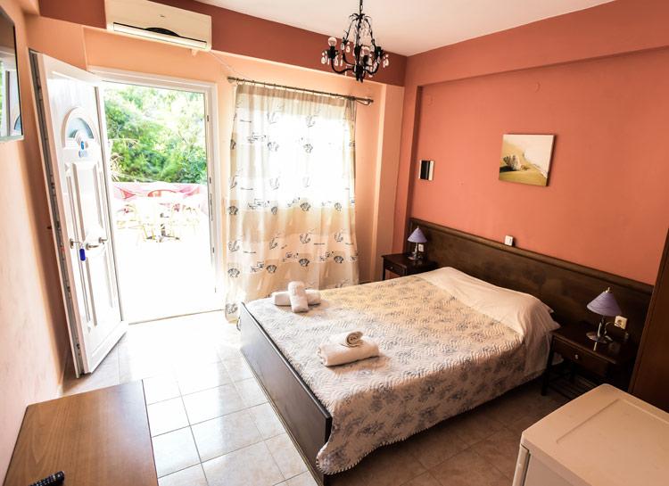 Mathraki Island Greece - Paradise Hotel Room